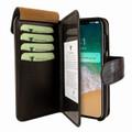 Piel Frama iPhone X / Xs WalletMagnum Leather Case - Brown Wild Cowskin-Crocodile