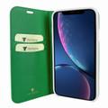 Piel Frama iPhone XR FramaSlimCards Leather Case - Green