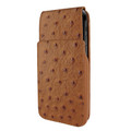 Piel Frama iPhone XR iMagnum Leather Case - Tan Cowskin-Ostrich