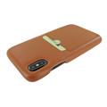 Piel Frama iPhone Xs Max FramaSlimGrip Leather Case - Tan