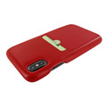 Piel Frama iPhone Xs Max FramaSlimGrip Leather Case - Red