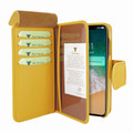 Piel Frama iPhone Xs Max WalletMagnum Leather Case - Yellow