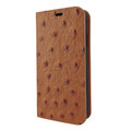 Piel Frama iPhone Xs Max FramaSlimCards Leather Case - Tan Cowskin-Ostrich