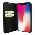 Piel Frama iPhone Xs Max FramaSlimCards Leather Case - Black Cowskin-Ostrich