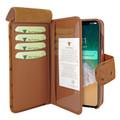 Piel Frama iPhone 11 Pro Max WalletMagnum Leather Case - Tan Cowskin-Ostrich