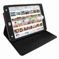Piel Frama iPad Mini (2019) Cinema Leather Case - Black Cowskin-Crocodile