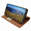 Piel Frama Samsung Galaxy S10e FramaSlimCards Leather Case - Tan