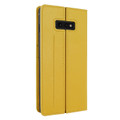 Piel Frama Samsung Galaxy S10e FramaSlimCards Leather Case - Yellow