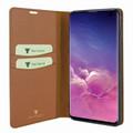 Piel Frama Samsung Galaxy S10e FramaSlimCards Leather Case - Tan Cowskin-Ostrich