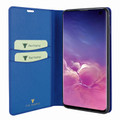 Piel Frama Samsung Galaxy S10e FramaSlimCards Leather Case - Blue Cowskin-Crocodile