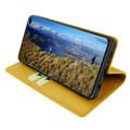 Piel Frama Samsung Galaxy S10 PLUS FramaSlimCards Leather Case - Yellow
