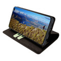 Piel Frama Samsung Galaxy S10 PLUS FramaSlimCards Leather Case - Brown Wild Cowskin-Crocodile