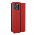 Piel Frama iPhone 12 | 12 Pro FramaSlimCards Leather Case - Red