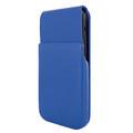 Piel Frama iPhone 12 mini iMagnum Leather Case - Blue