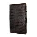 Piel Frama iPad Air 2019   iPad 10.2 2019 Cinema Leather Case - Brown Wild Crocodile