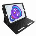Piel Frama iPad Air 2019   iPad 10.2 2019 Cinema Leather Case - Black Ostrich