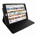 Piel Frama iPad Mini 4 Cinema Leather Case - Black Cowskin-Lizard