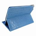 Piel Frama iPad Mini 4 Cinema Leather Case - Blue Cowskin-Crocodile