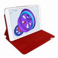 Piel Frama iPad Pro 12.9 2017 FramaSlim Leather Case - Red Cowskin-Crocodile