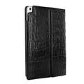 Piel Frama iPad Pro 12.9 2017 Cinema Leather Case - Black Wild Cowskin-Crocodile