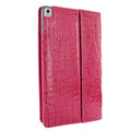 Piel Frama iPad Pro 12.9 2017 Cinema Leather Case - Fuchsia Cowskin-Crocodile