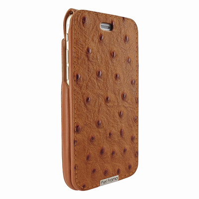 Piel Frama iPhone 6 / 6S / 7 / 8 UltraSliMagnum Leather Case - Tan Cowskin-Ostrich