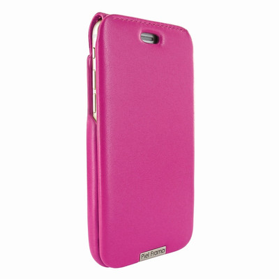Piel Frama iPhone 6 Plus / 6S Plus / 7 Plus / 8 Plus UltraSliMagnum Leather Case - Fuchsia