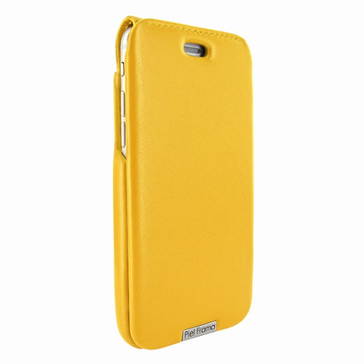 Piel Frama iPhone 6 Plus / 6S Plus / 7 Plus / 8 Plus UltraSliMagnum Leather Case - Yellow