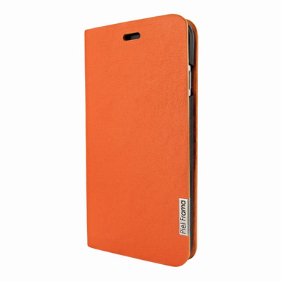 Piel Frama iPhone 7 / 8 FramaSlimCards Leather Case - Orange