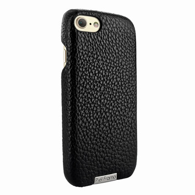 Piel Frama iPhone 7 / 8 FramaSlimGrip Leather Case - Black iForte