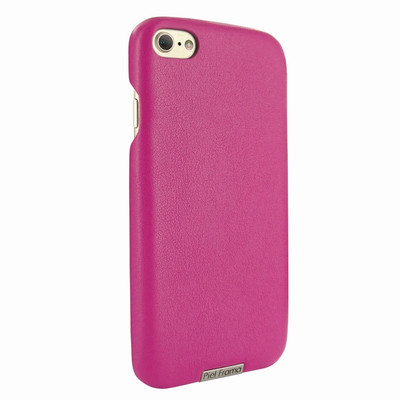 Piel Frama iPhone 7 / 8 FramaSlimGrip Leather Case - Fuchsia
