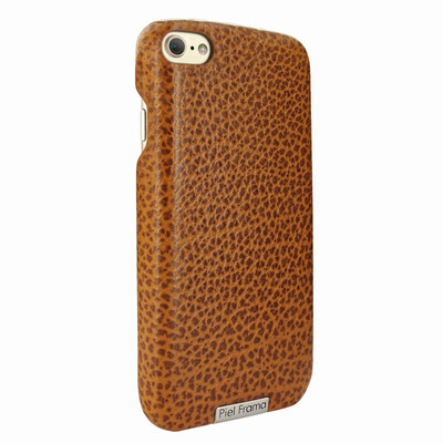 Piel Frama iPhone 7 / 8 FramaSlimGrip Leather Case - Tan iForte