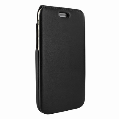 Piel Frama iPhone 7 / 8 iMagnumCards Leather Case - Black