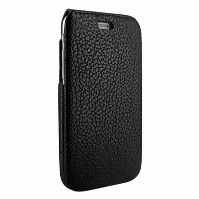 Piel Frama iPhone 7 / 8 iMagnumCards Leather Case - Black iForte