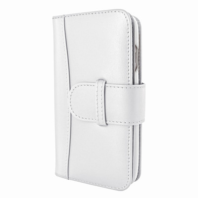 Piel Frama iPhone 7 / 8 WalletMagnum Leather Case - White