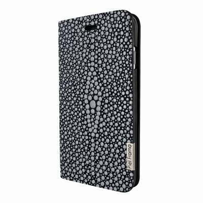 Piel Frama iPhone 7 Plus / 8 Plus FramaSlimCards Leather Case - Black Cowskin-Stingray