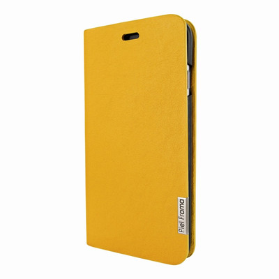 Piel Frama iPhone 7 Plus / 8 Plus FramaSlimCards Leather Case - Yellow