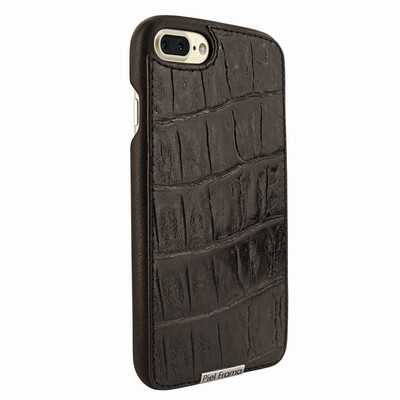 Piel Frama iPhone 7 Plus / 8 Plus FramaSlimGrip Leather Case - Brown Wild Cowskin-Crocodile