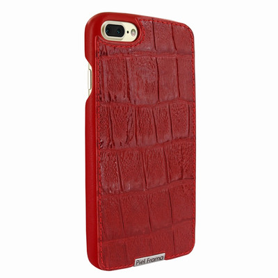 Piel Frama iPhone 7 Plus / 8 Plus FramaSlimGrip Leather Case - Red Wild Cowskin-Crocodile