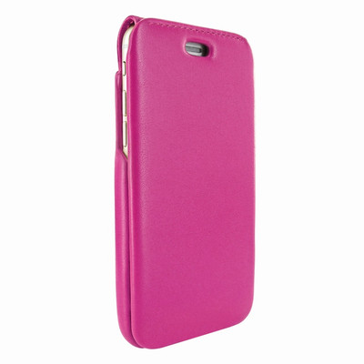 Piel Frama iPhone 7 Plus / 8 Plus iMagnumCards Leather Case - Fuchsia