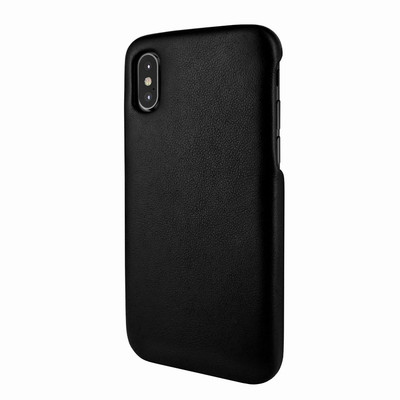 Piel Frama iPhone X / Xs FramaSlimGrip Leather Case - Black