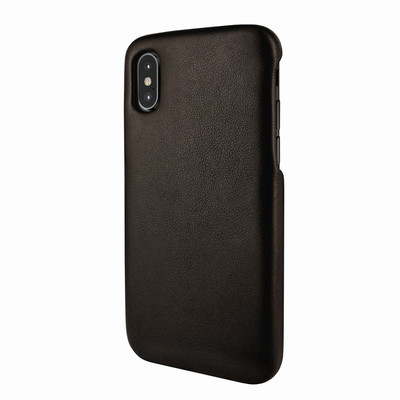 Piel Frama iPhone X / Xs FramaSlimGrip Leather Case - Brown