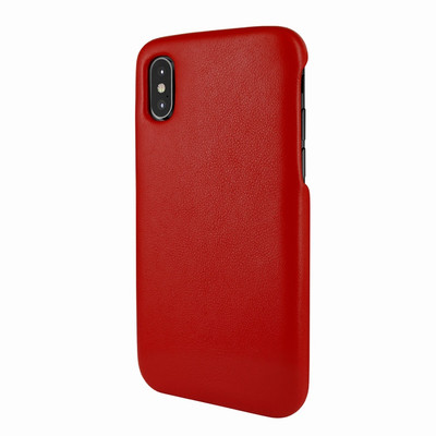 Piel Frama iPhone X / Xs FramaSlimGrip Leather Case - Red