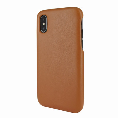 Piel Frama iPhone X / Xs FramaSlimGrip Leather Case - Tan