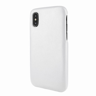 Piel Frama iPhone X / Xs FramaSlimGrip Leather Case - White