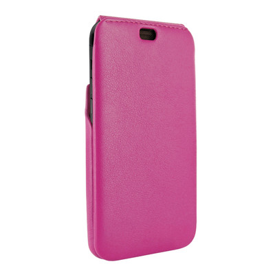 Piel Frama iPhone X / Xs iMagnum Leather Case - Fuchsia