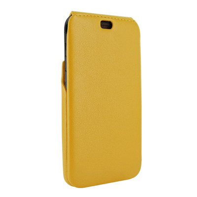 Piel Frama iPhone X / Xs iMagnum Leather Case - Yellow