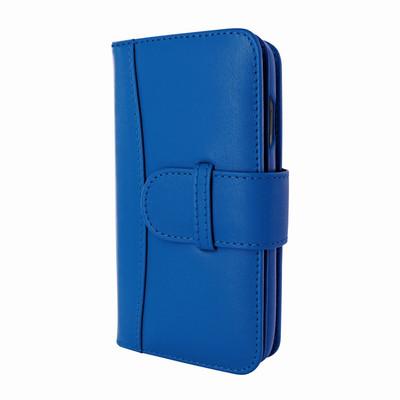 Piel Frama iPhone X / Xs WalletMagnum Leather Case - Blue