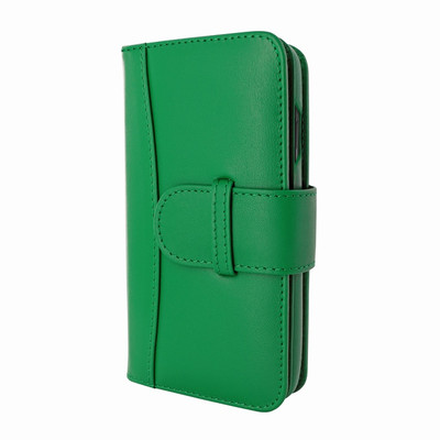 Piel Frama iPhone X / Xs WalletMagnum Leather Case - Green