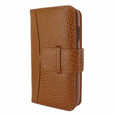 Piel Frama iPhone X / Xs WalletMagnum Leather Case - Tan iForte